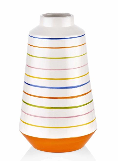 The Mia Vazo - 30 Cm Çok Renkli Renkli